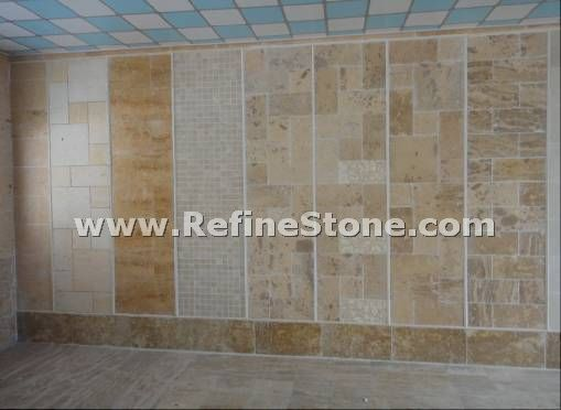 Limestone wall tile