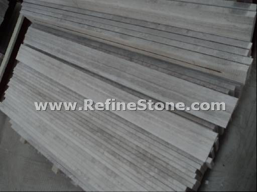 Wooden marble series,White wooden marble skirting,C358