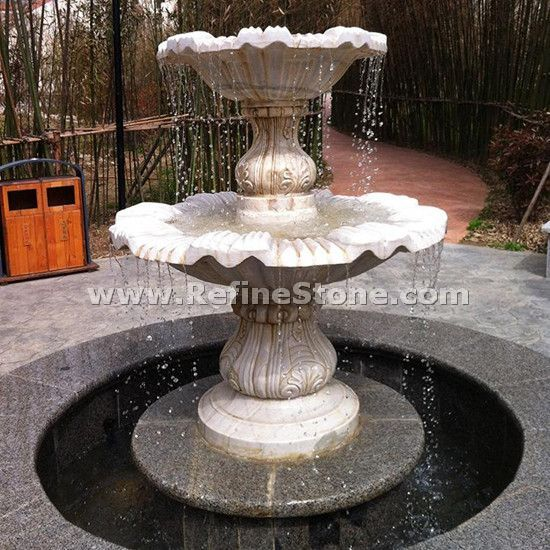 carving water fountain