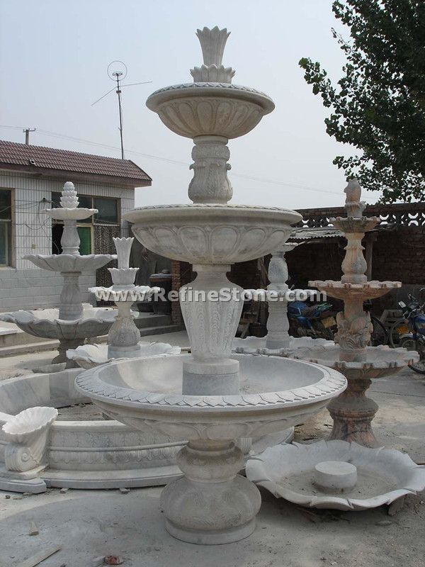 natural stone water fountain