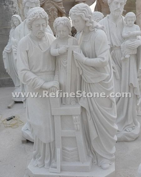 religion marble sculptures