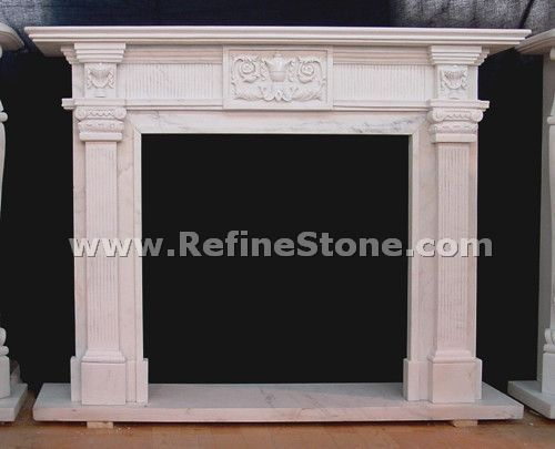Top fireplace