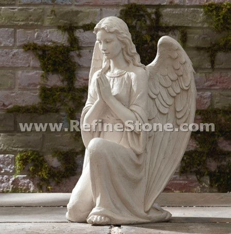 Angel marble sculpture