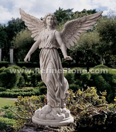 Angel marble statue