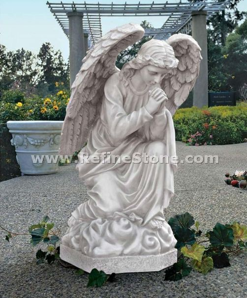 Marble Angel Carving