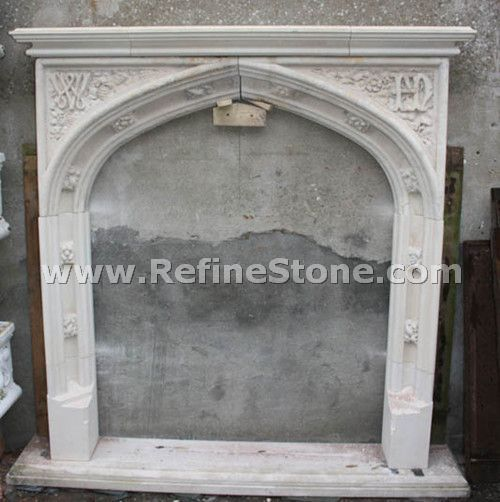 Carved fireplace and fireplace surrounds,Popular fireplace in hot sale,C4930