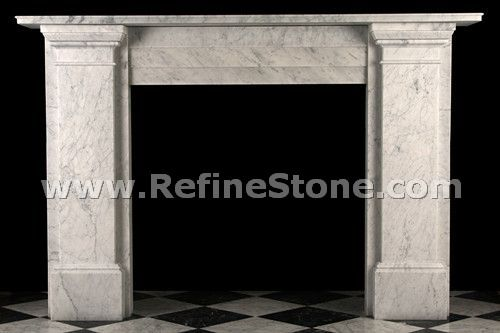 Carved fireplace and fireplace surrounds,Victorian Plain Reproduction fireplaces,C4936