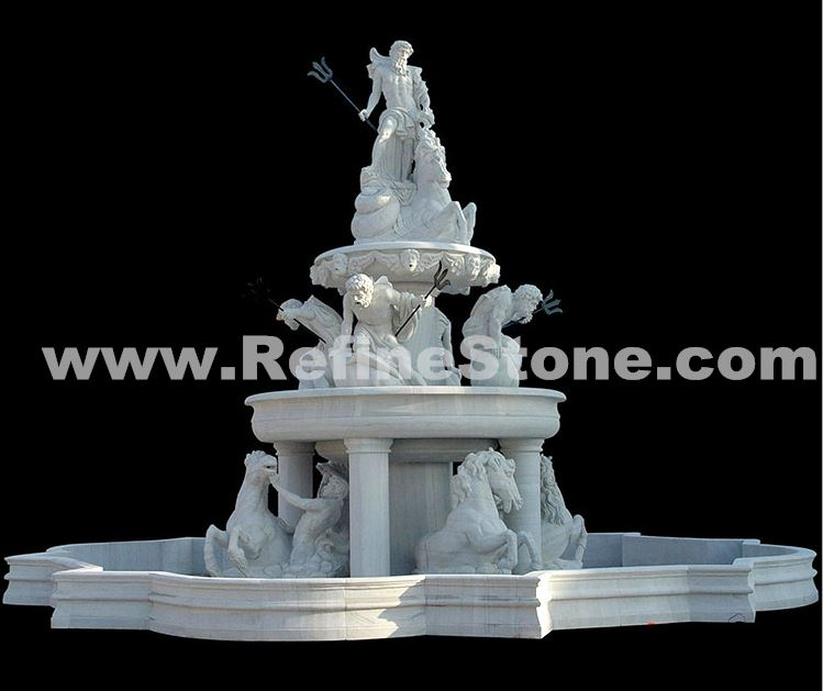 Large Stone Carving fountain