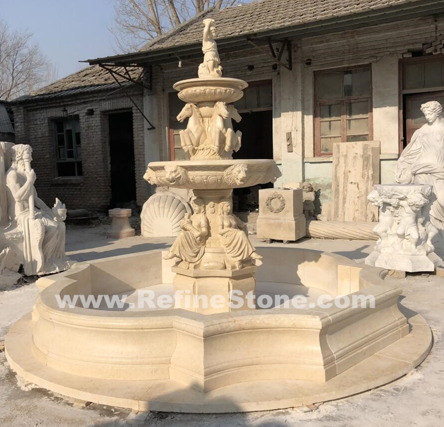 Natural Marble Stone fountain