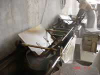 Tile Chamferring Machine